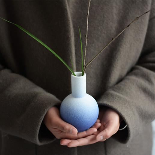 【天地瓶系列】陶艺家杨凡  陶瓷创意家居桌面摆件 花器 单件装